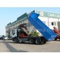 Camion Volquete Iveco con Grua Fassi